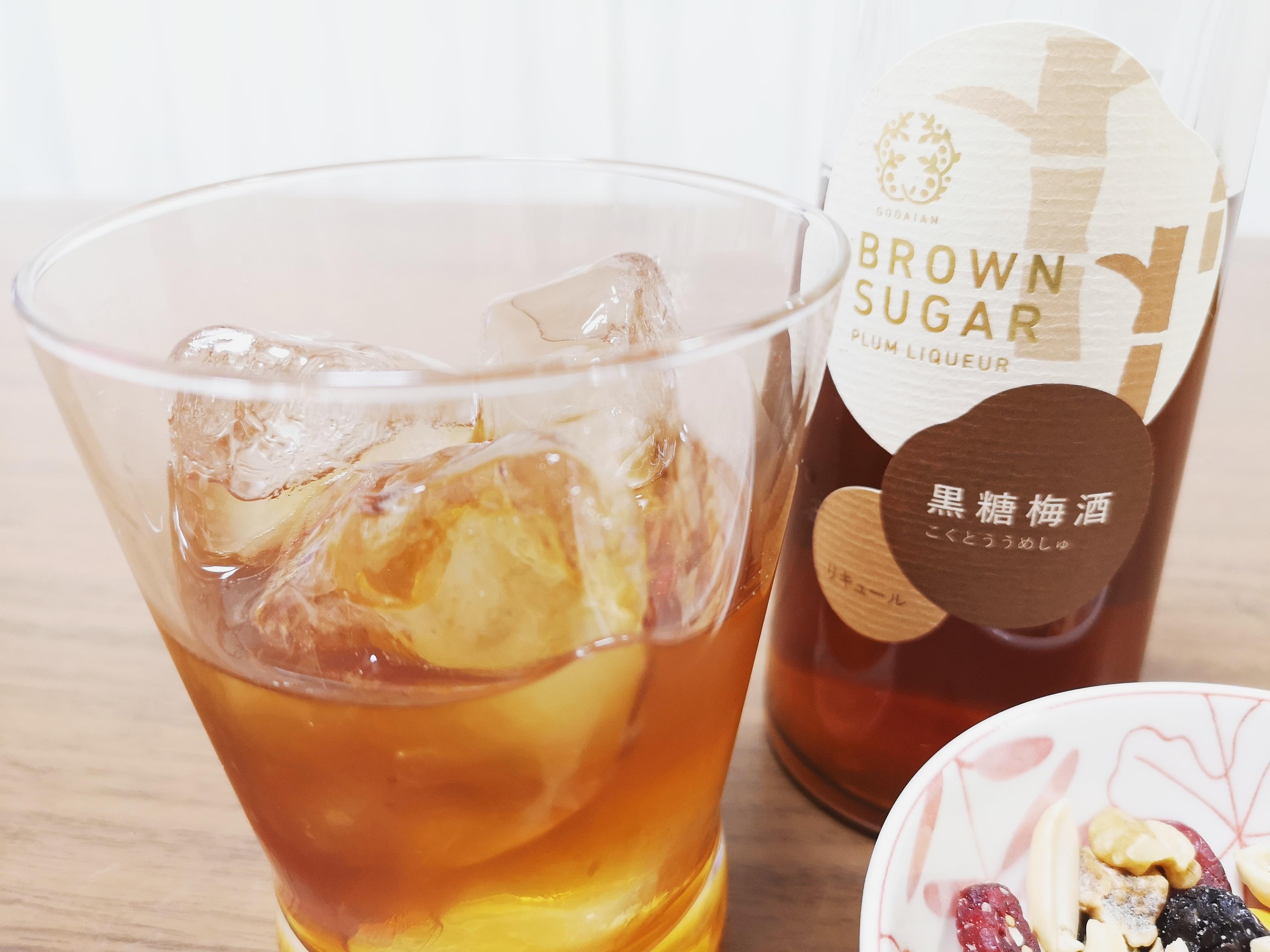 五代庵の人気梅酒「黒糖梅酒」