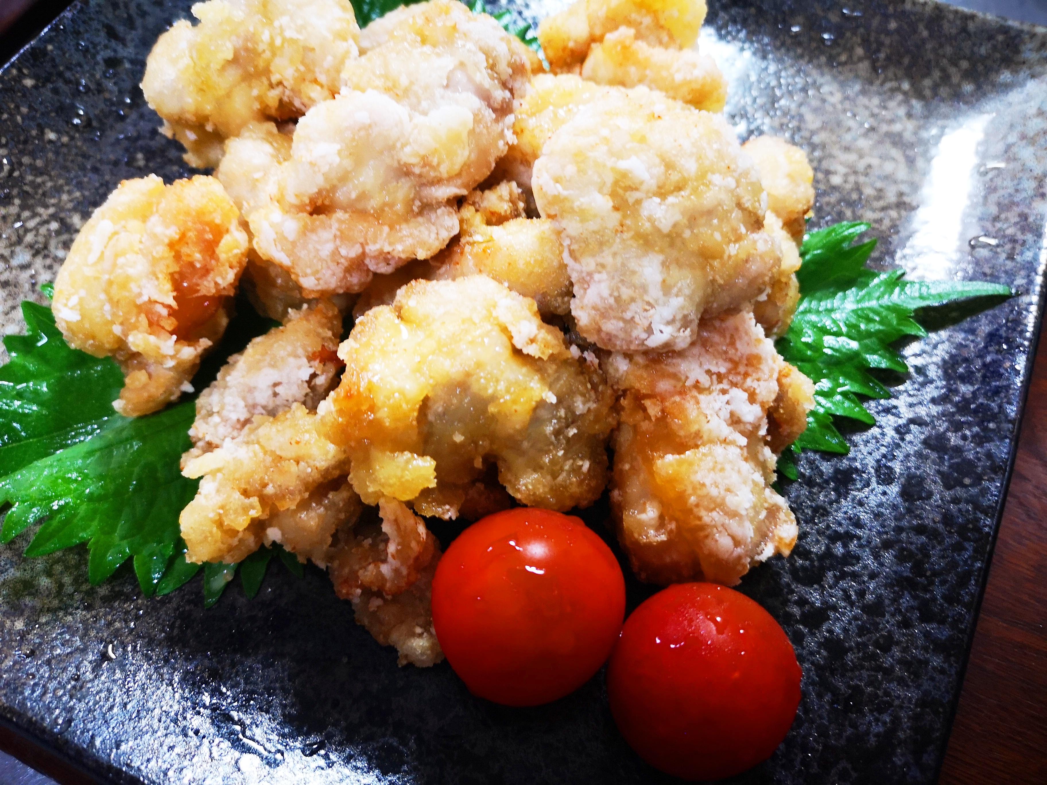 万能調味料 白梅酢でさっぱり 鶏の唐揚げ