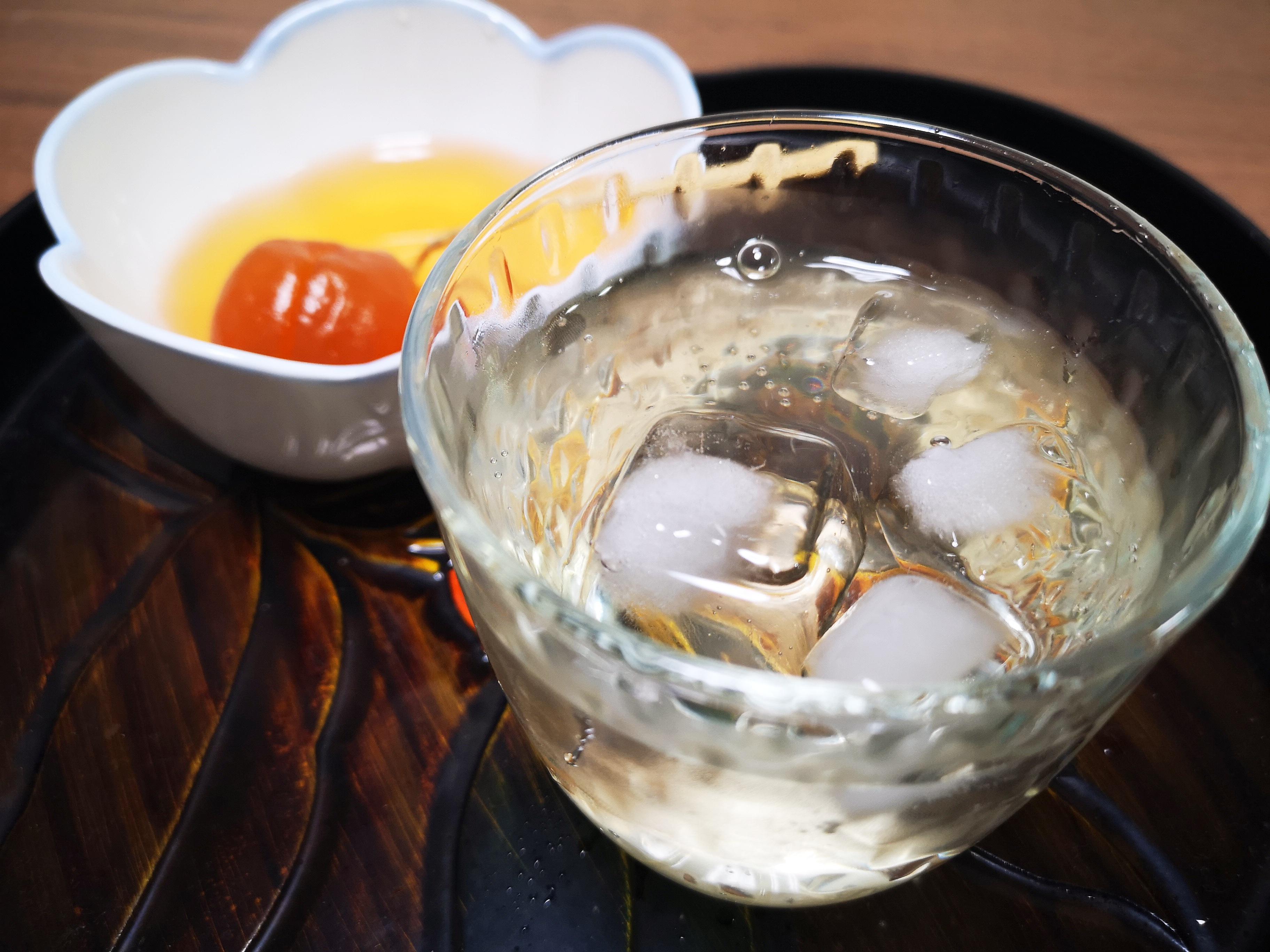 夏バテ、熱中症予防にも 白梅酢とはちみつのジュース