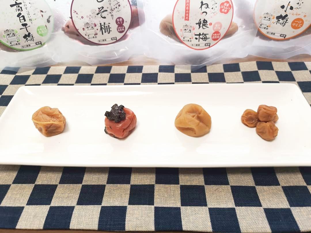 和歌山県「エコファーマー」認定農園 坂口農園の梅干しお試しセット