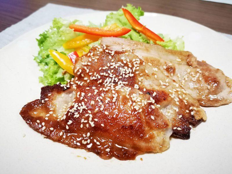15分で晩御飯のおかず ご飯にぴったり!豚肉の梅照り焼き